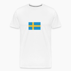 Flag Sweden (dd) T-Shirts