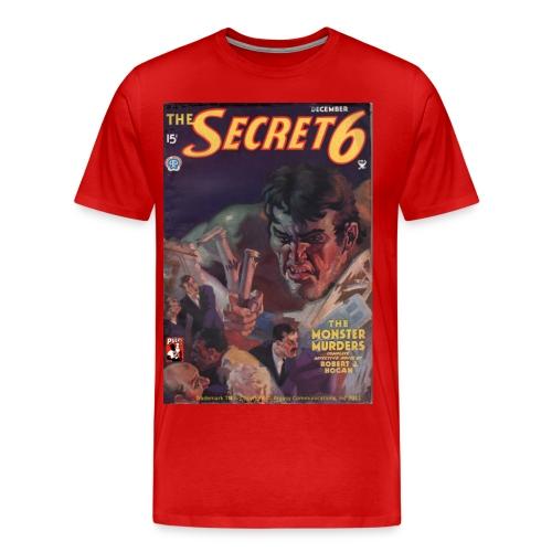 3XL Secret 6: The Monster Murders - Men's Premium T-Shirt