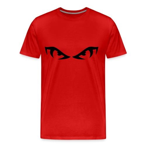 Angry eyes - Men's Premium T-Shirt