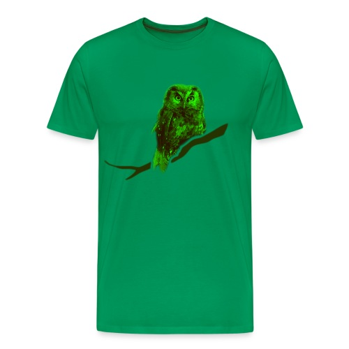 shirt owl owlet bird night wings feather nature forest hunter hunting - Men's Premium T-Shirt