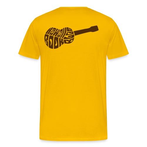 Beginner's Ukulele Cheat Sheet - Men's Premium T-Shirt