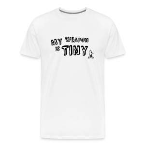 My Weapon :( - Men's Premium T-Shirt
