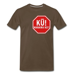 (Hawaiian) Stop! Hammer Time! 3x - Men's Premium T-Shirt
