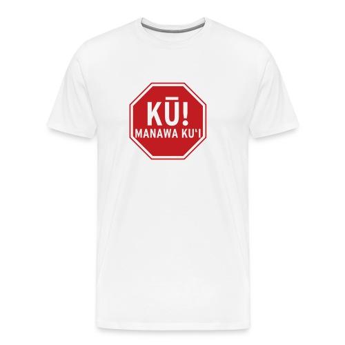 (Hawaiian) Stop! Hammer Time! 3x - Men's Premium T-Shirt