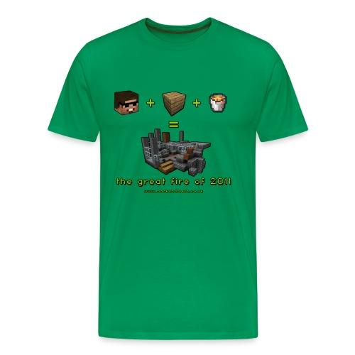 The Great Fire Equation - Men's Premium T-Shirt