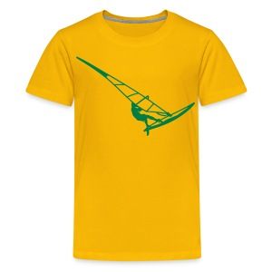 Surfer (Vector) - Kids' Premium T-Shirt