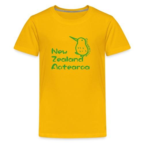 New Zealand's Map - Kids' Premium T-Shirt