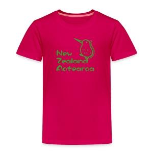 New Zealand's Map - Toddler Premium T-Shirt