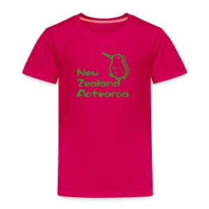 New Zealand's Map - Toddler Premium T-Shirt
