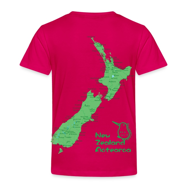 New Zealand's Map
