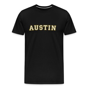 Austin College T-Shirt (Red/Gold) - Men's Premium T-Shirt