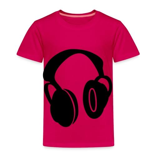 head phones - Toddler Premium T-Shirt