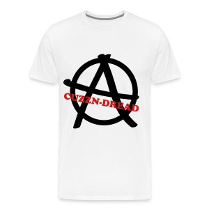 Cuzzn-Dread Anarchy Logo men - Men's Premium T-Shirt