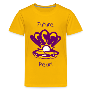 Oyster with Pearl Kids' Shirts
