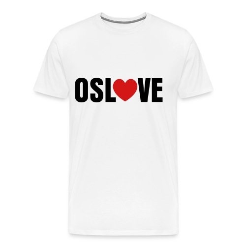 OSLO LOVE T-SHIRT - Men's Premium T-Shirt