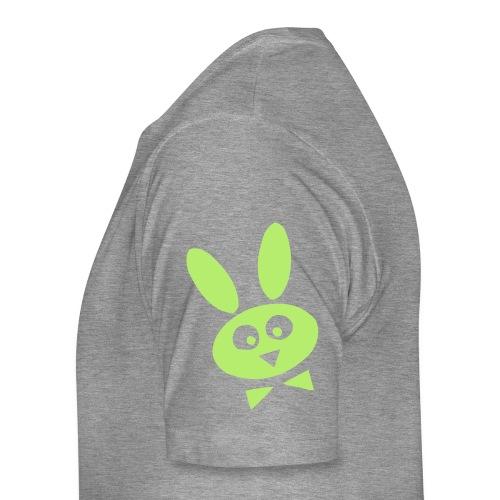 The Nerdy Bunny Genius - Men's Premium T-Shirt