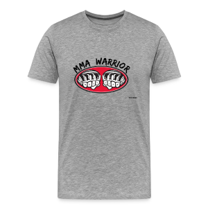 MMA Warrior - Men's Premium T-Shirt