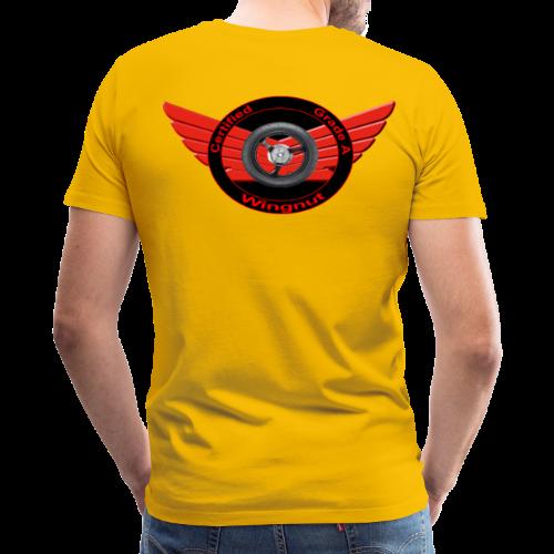 Men's Premium T Back Grade A Wingnut - Men's Premium T-Shirt