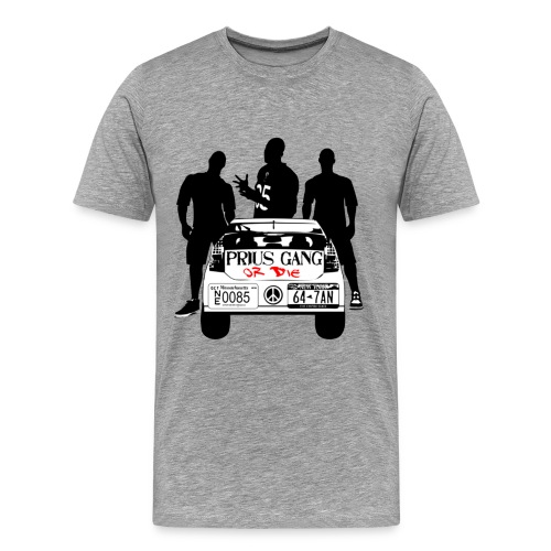 Prius Gang or Die Logo : Mens - Men's Premium T-Shirt