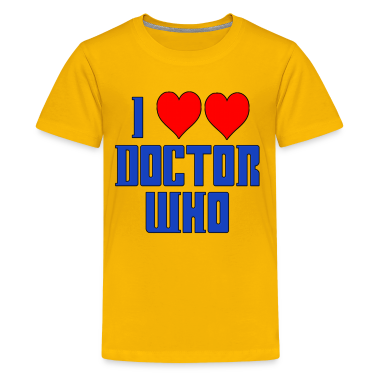 I Heart Love Doctor Who Dr. Kids' Shirts