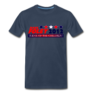 T-Shirts ~ Men's Premium T-Shirt ~ Foley 2012 Think Of The Children Cruel, Political T-Shirt!