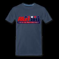 T-Shirts ~ Men's Premium T-Shirt ~ Foley 2012 Think Of The Children Cruel, Political T-Shirt!