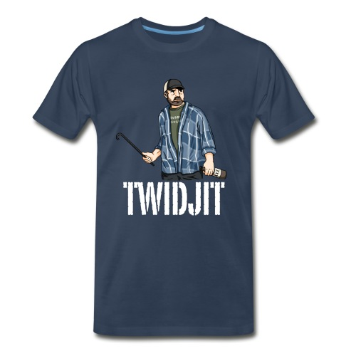 Jim Beaver [Twidjit] (DESIGN BY MICHELLE) - Men's Premium T-Shirt