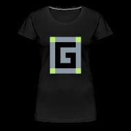 Women's T-Shirts ~ Women's Premium T-Shirt ~ Guude Women's Plus Size Basic T-Shirt