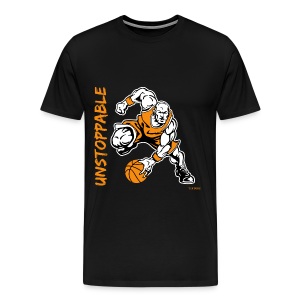 Basketball - Unstoppable - Men's Premium T-Shirt