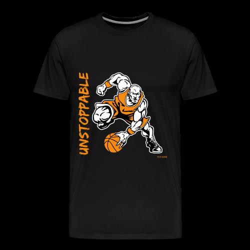 Basketball - Unstoppable - Men's Premium T-Shirt