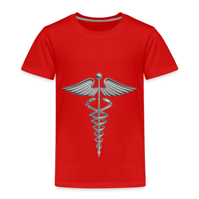 Gabrielangeldesign Silver Medical Symbol Toddler Premium T Shirt