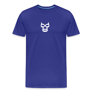 Blue Demon Tshirt blue - By Poloche.com