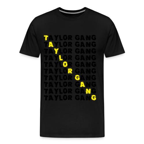 Taylor Gang Black and Yellow T-Shirt - Men's Premium T-Shirt