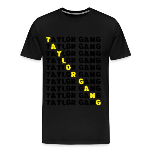 Taylor Gang Black and Yellow T-Shirt - Men's Premium T-Shirt