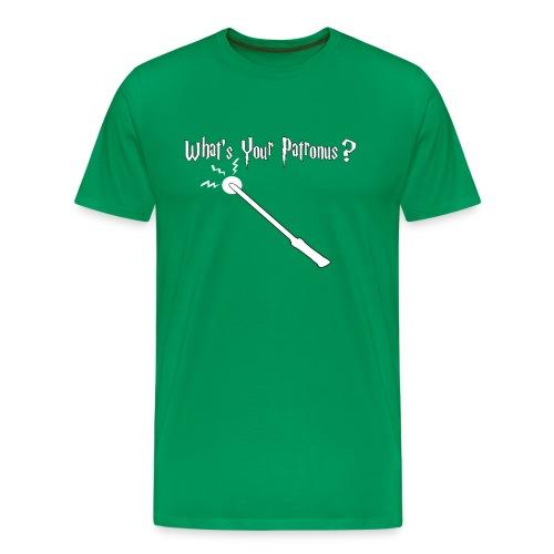 What's Your Patronus Mens T-Shirt Select Colors - Men's Premium T-Shirt