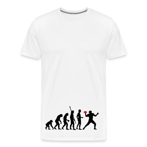 evolution of man - Men's Premium T-Shirt
