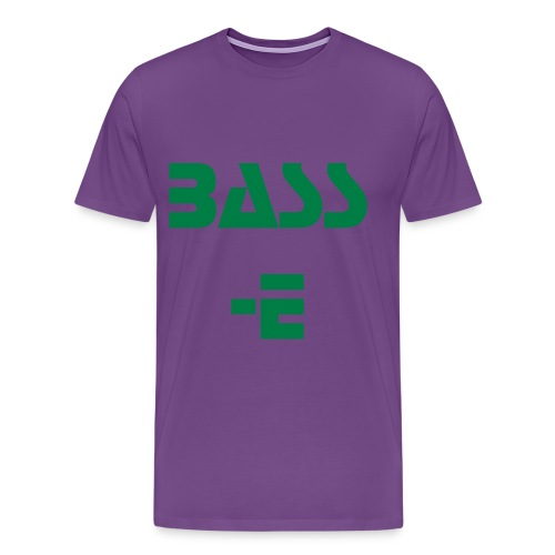 Bass-E Mens T-Shirt - Men's Premium T-Shirt