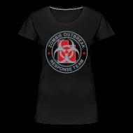 T-Shirts ~ Women's Premium T-Shirt ~ 1-UTLogo-FPlus-Full (Silver & Red)