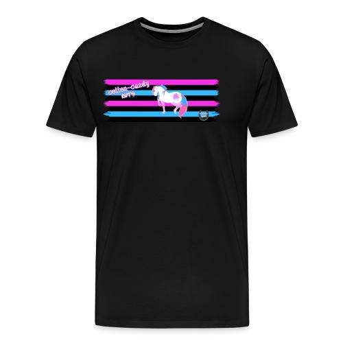 Cotton-Candy Cuts - Men's Premium T-Shirt