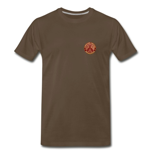 Grilled Cheese Master Brown T-Shirt - Men's Premium T-Shirt