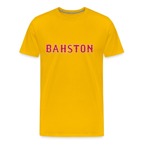 Wicked Hahdcore...BAHSTON - Men's Premium T-Shirt