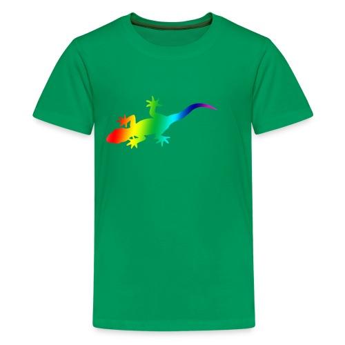 Rainbow gecko tee - Kids' Premium T-Shirt