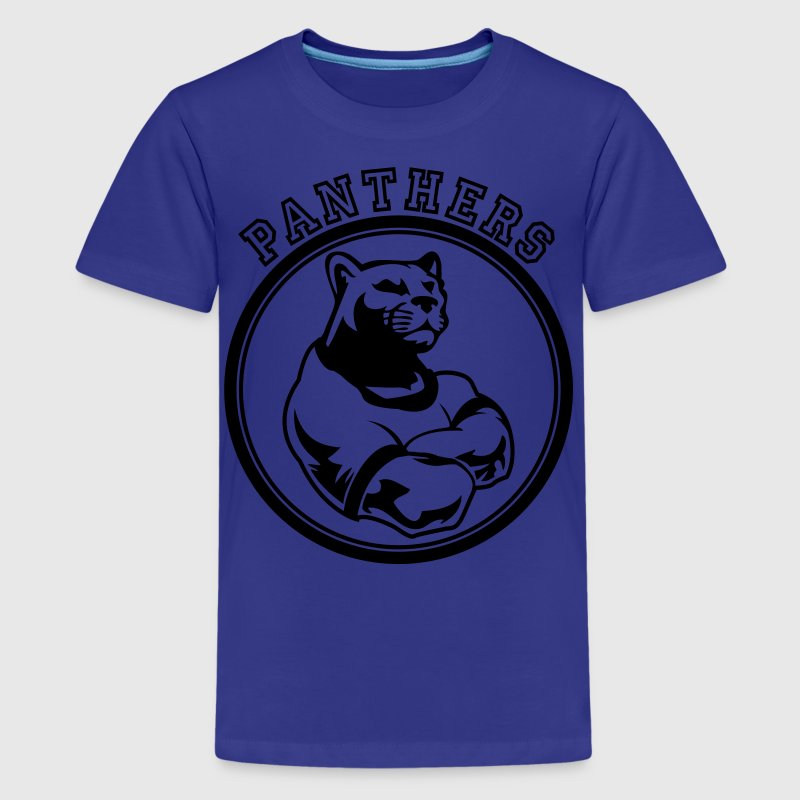 Custom Sports Panthers Mascot For Teams T Shirt Spreadshirt
