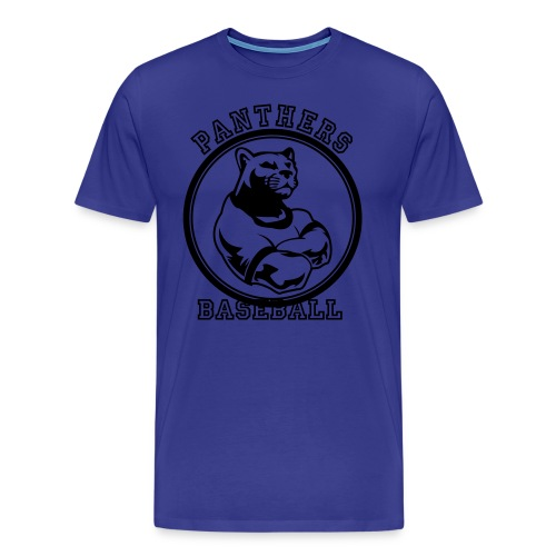 Panthers Baseball - Men's Premium T-Shirt