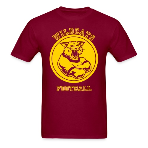 Wildcats Football - Men's T-Shirt
