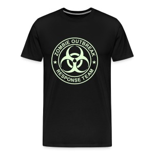 1-ULogo-M3XL-Full (Glowing) - Men's Premium T-Shirt