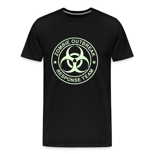 1-ULogo-M3XL-Full (Glowing) - Men's Premium T-Shirt