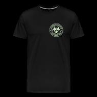 T-Shirts ~ Men's Premium T-Shirt ~ 2-ULogo-MHvyWht (Glowing)