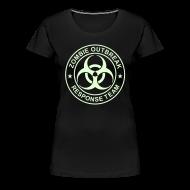 T-Shirts ~ Women's Premium T-Shirt ~ 1-ULogo-FPlus-Full (Glowing)
