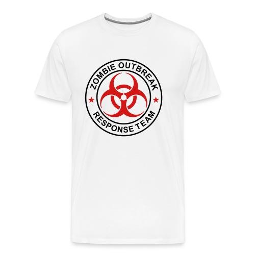 2-ULogo-M3XL-Full (Black & Red) - Men's Premium T-Shirt